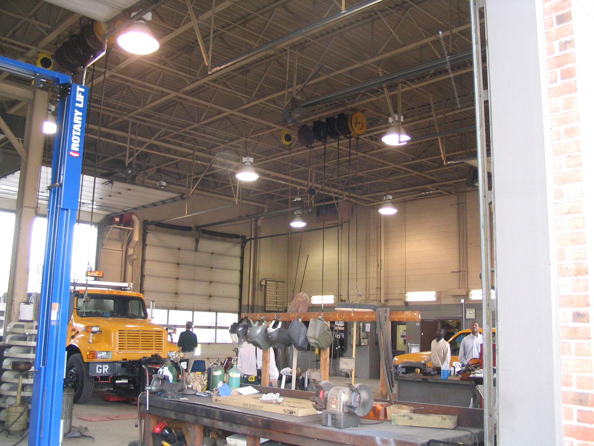 SHA Golden Ring Maintenance Facility - HVAC and Fire Code Upgrades