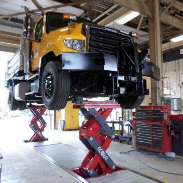 SHA Keyser's Ridge & Hagerstown – Vehicle Lift Replacements